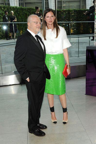 Jenna Lyons with Mickey Drexler.