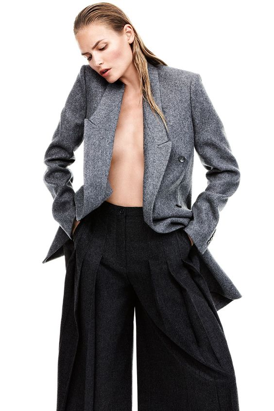This season's gray trend comes in 50 shades—see the full fashion editorial here:
