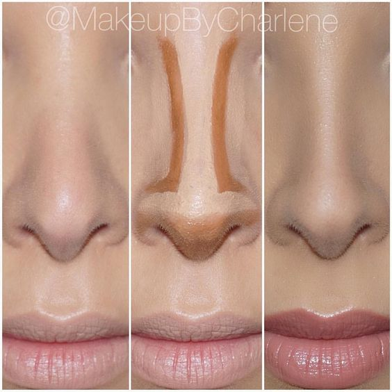 "Lilly Ghalichi on Instagram: ""Nose contour by @makeupbycharlene #GhalichiGlam #LillyLashes #LillyGhalichi"""
