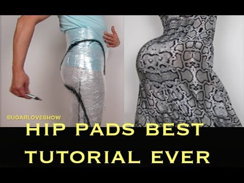 DRAG QUEEN HIP PADS BEST TUTORIAL EVER ON YOUTUBE part 1