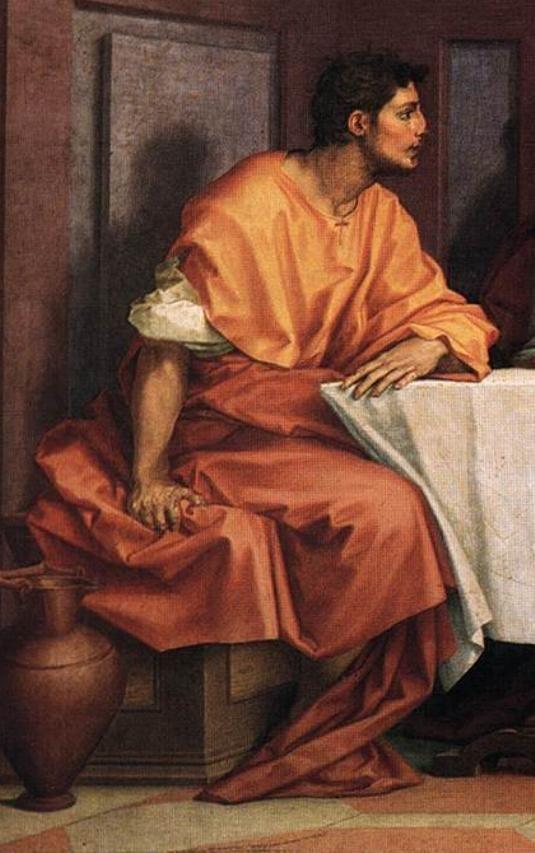 Andrea del Sarto - Ultima Cena (dett.) - 1520-1525 - affresco - Museo del Cenacolo di Andrea del Sarto - Firenze: