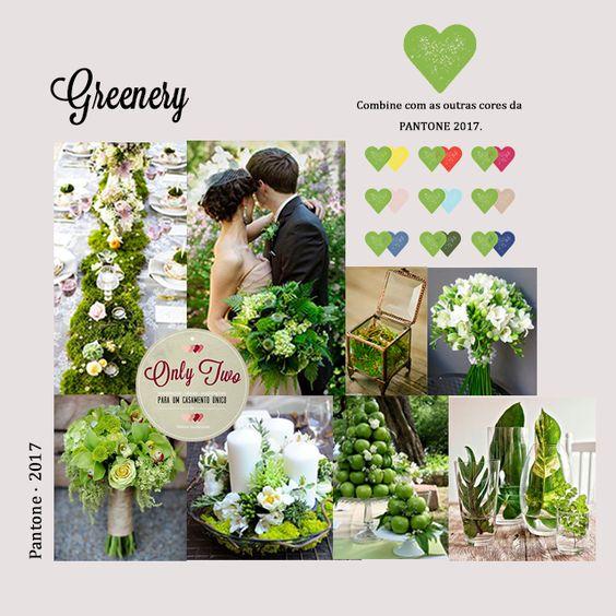 greenery no casamento