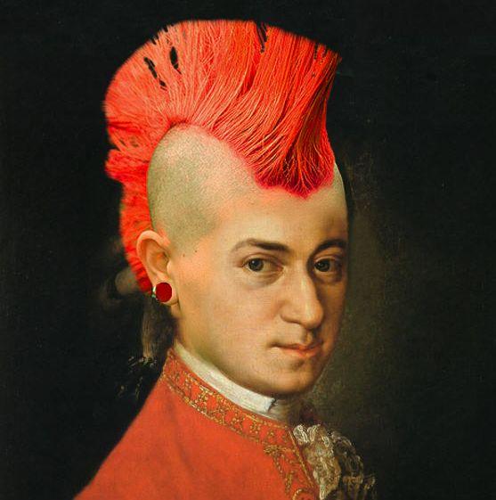 Mozart Rocks by vivaelhuano | Rock Me Amadeus | Pinterest ...
