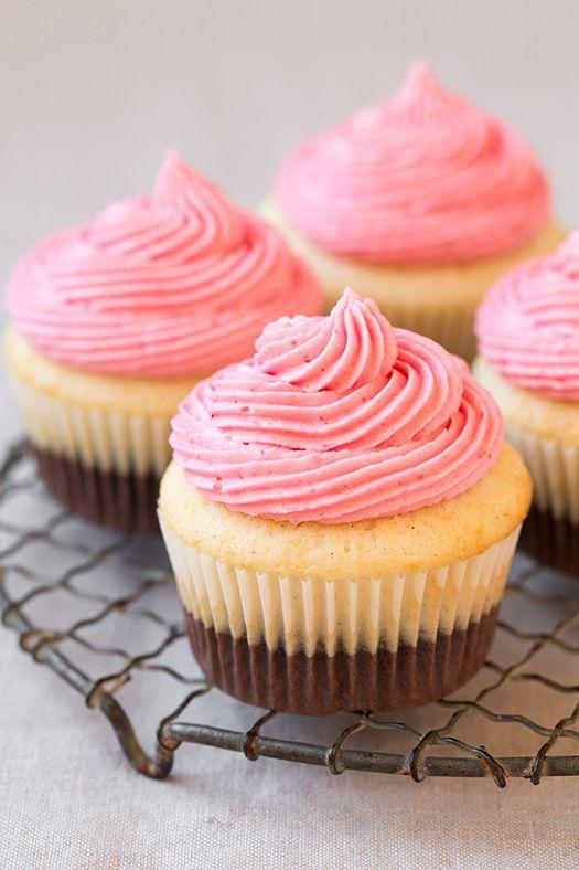 Neapolitan Cupcakes~Donna ❧♥༻ ✿ڿڰۣ(♥NYrockphotogirl ♥༻✯2014