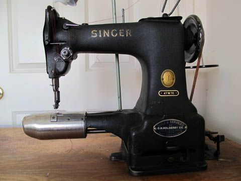 darning machine