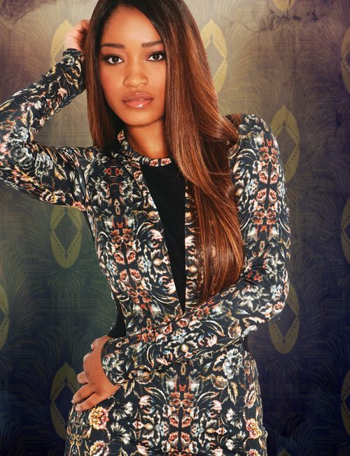 keke palmer hair color and caramel brown hair color on