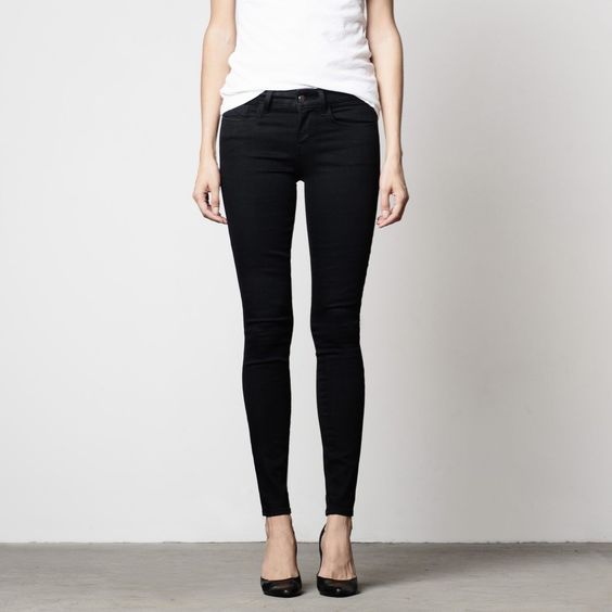 The Perfect Black Skinny Jean. | WOMEN'S PREMIUM DENIM AND LUXE ...