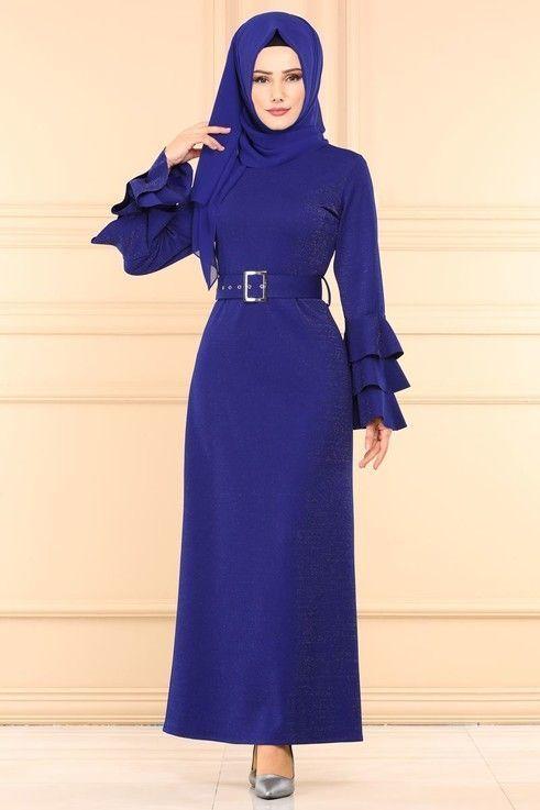 Yeni Modaselvim Boydan Elbiseler Harika Model Islamic Dress Islamic Fashion Fashion