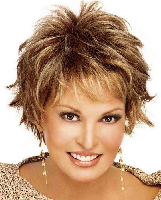 Short Shag Hair Cuts for Women Over 50 | Short Shaggy ...
