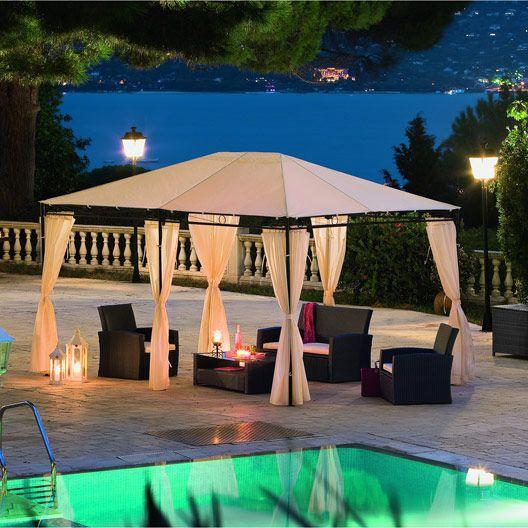 Tonnelle autoportante Santorini, 12 m² #tonnelle # ...