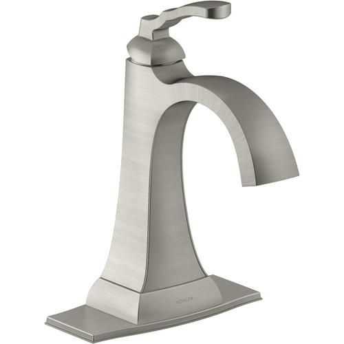 Pfister Jaida Brushed Nickel 1 handle Single Hole 4 in Centerset Bathroom Faucet