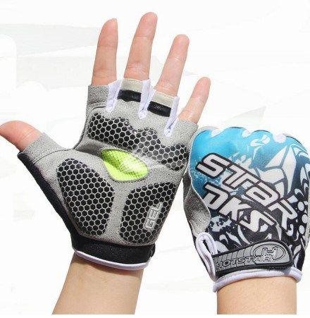 Cycling Gloves Half Finger For Men. Shockproof , Breathable Men Gloves For Sport…