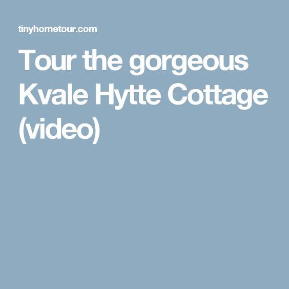Tour the gorgeous Kvale Hytte Cottage video Garages