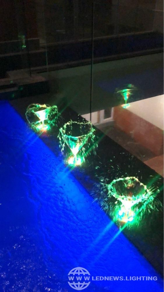 Product Solution Led Fountain Lamp Ip68 Rgb Underwater Swimming Pool Light Pond Decorative Light Swimming Pool Lights Pool Light Light Decorations