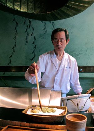 Zezankyo: A showcase for tempura artistry