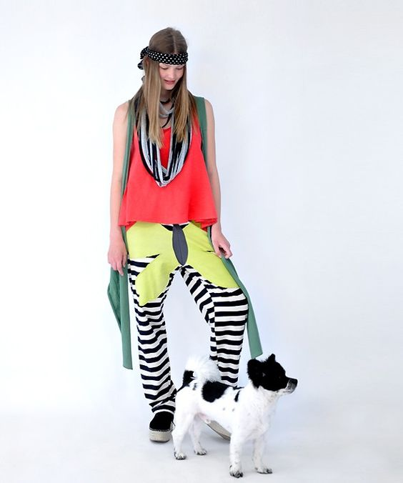 "HEEL Shop | Art Fashion, Athens Lab Pants ""Butterfly"""