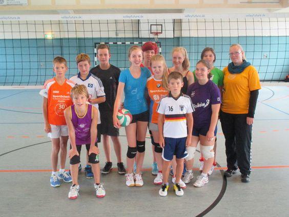 Geballte VolleyballFreude... www.volleyfuture.de