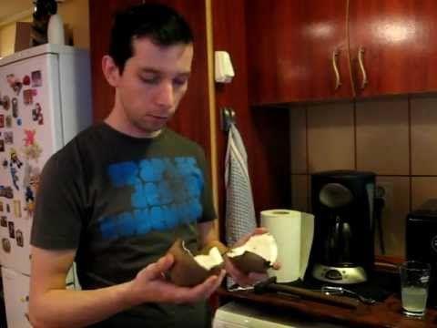 Cum se sparge o nuca de cocos