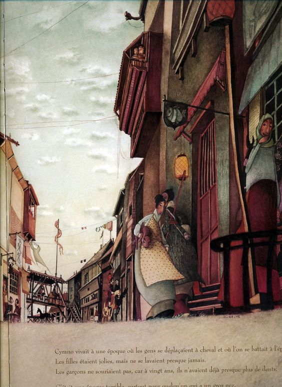 çizgili masallar: Rebecca Dautremer, Cyrano
