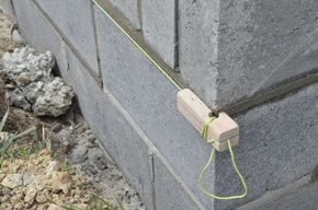 How To Build A Concrete Block Foundation Concrete Block Foundation Concrete Blocks Concrete Block Walls