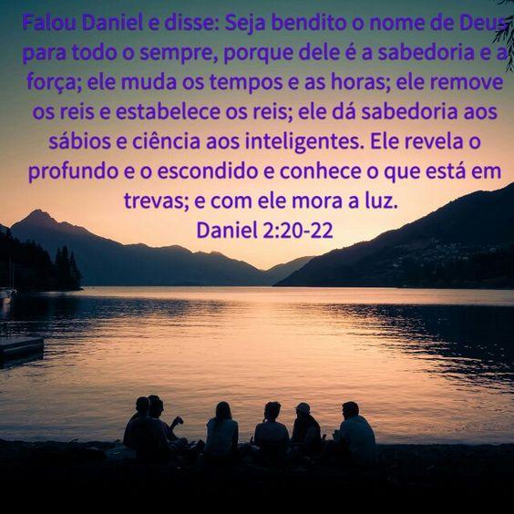 A Sabedoria ta com o Senhor Deus dos Céus
