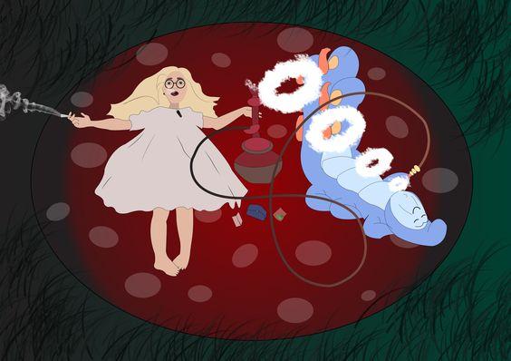 #me #Alice #chill #dream #illustrator #art #design #time #own #work