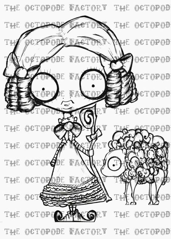 Téléchargement instantané Little Bo Peep et ses moutons peu perdu