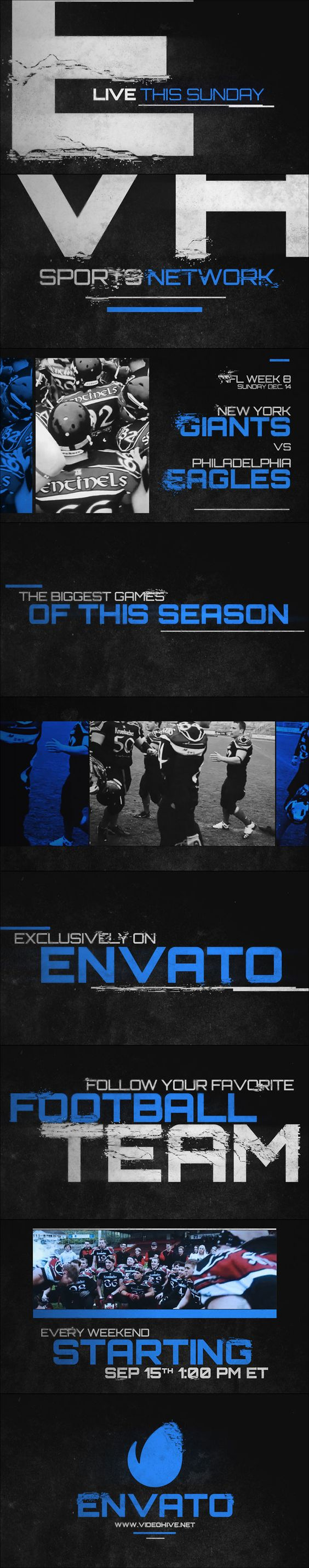 After Effects Project Files - Grunge Sports Promo | VideoHive