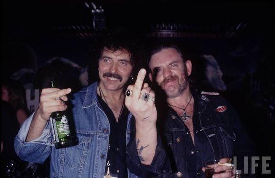 Lemmy with Tony Iommi