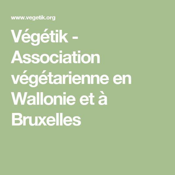 Végétik - Association végétarienne en Wallonie et à Bruxelles