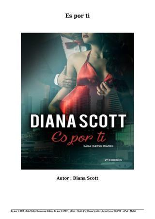Descargar Libros Es Por Ti Pdf Epub Mobi Por Diana Scott Libros En Espanol Leer Libros Online Descargar Libros En Pdf