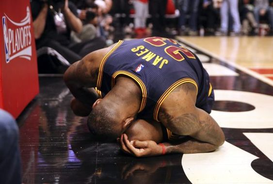 Lebron James is still recovering from injury