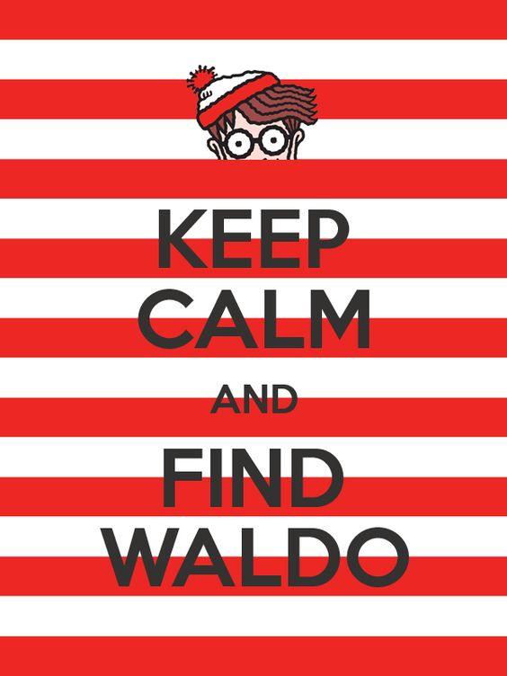 """Keep Calm and Find Waldo"" by Tajdar O. Chaudry"