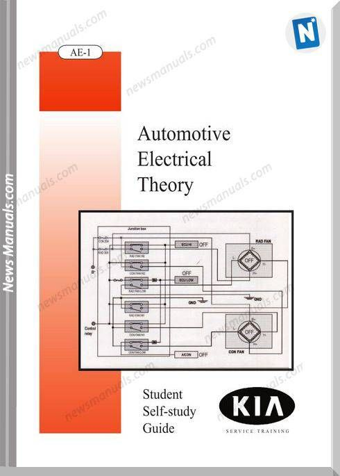Kia Booklet Automotive Electrical Theory Automotive Electrical Electricity Kia