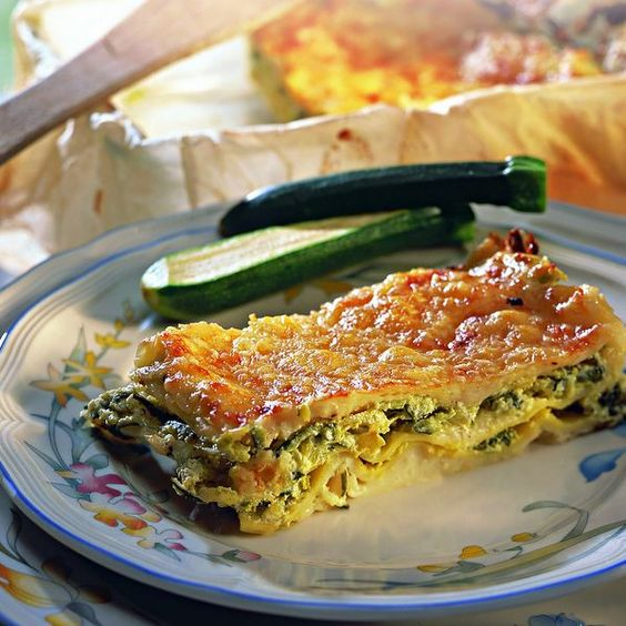 WeightWatchers.fr : recette Weight Watchers - Lasagnes aux courgettes et chèvre