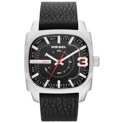 DIESEL Square Leather Strap Watch, 42mm - product - Product Review