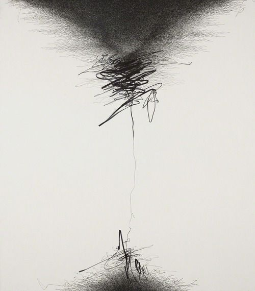 Golnaz Fathi | Untitled, 2013 | Pen on canvas