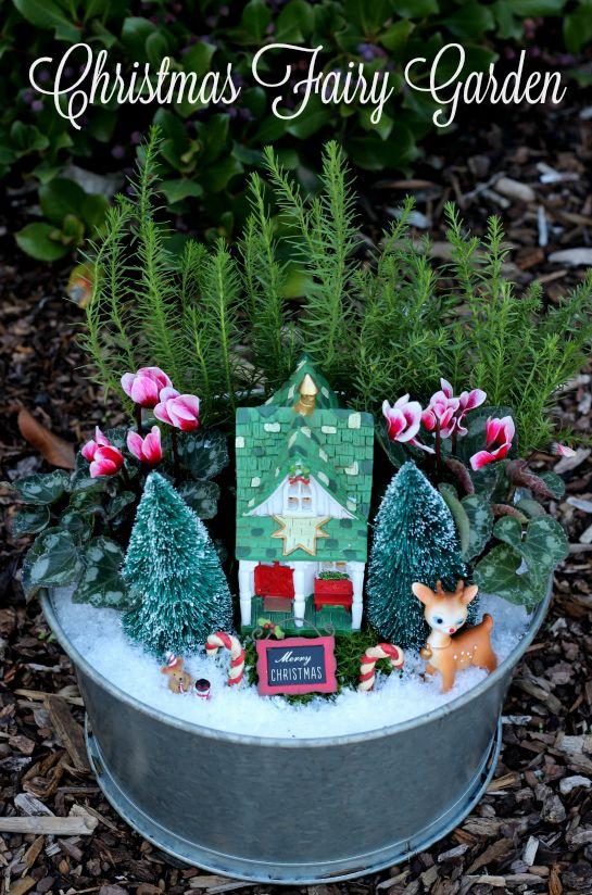 Christmas Fairy Garden