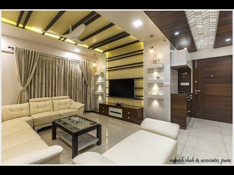 3 Bhk Flat Modern Interior Design In Pune Mahindra Lifespace Chinchwad Manish Shah Associates Yo Modern Interior Design Modern Interior Interior Design