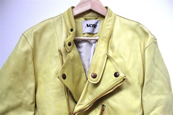 Läderjacka från Acne, strl S på Tradera.com - Damjackor och ytterkläder,