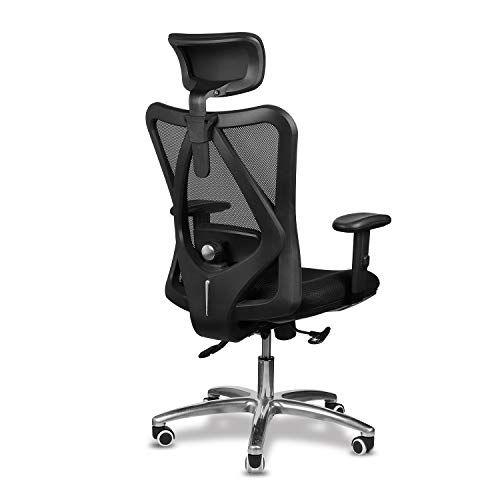 Mfavour Chaise 02 En 2020 Chaise Bureau Fauteuil Ergonomique Dossier De Chaise