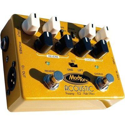 Modtone Custom Line Acoustic Preamp Pedal Acoustic Custom Pedal