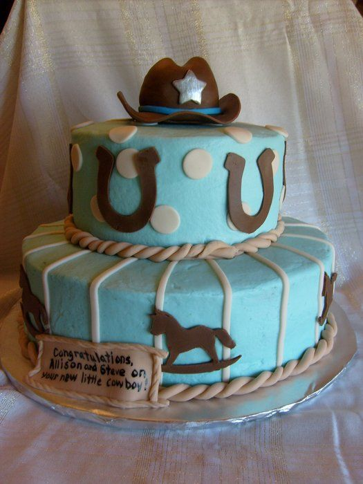 boy baby shower cakes western baby boy shower cowboy baby shower cakes
