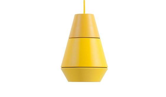 MONOQI   La Lava Hängeleuchte - Gelb