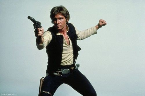 I don't crush on Harrison ford. But han solo was my first movie crush from when I was 5