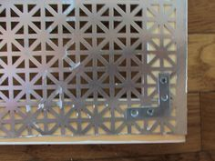 how to diy an air return vent with an aluminum radiator cover from a home improvement store