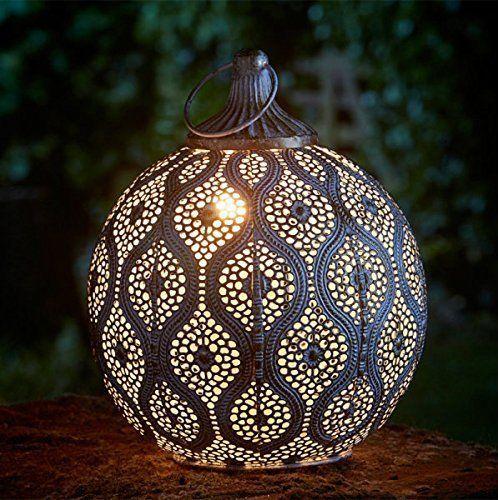 Moroccan Filigree Lantern Lights, Large Moroccan Outdoor Lanterns Uk