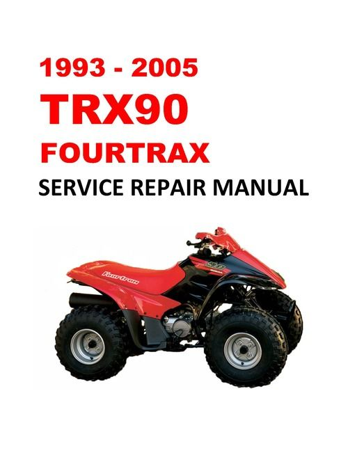 2003 2005 Honda Trx650fa Rincon Atv Quad Repair Workshop Service Manual Rincon Atv Honda