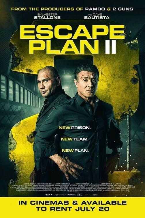Escape Plan 2 Hades Movie Poster Escapeplan Hades Fantastic Movie Posters Scifimovies Posters Horrormovies Posters Acti Escape Plan Plan Movie How To Plan