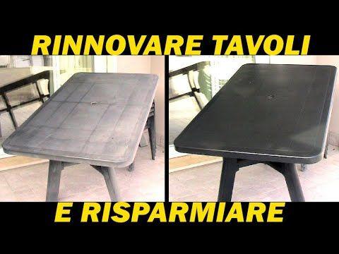 Rs Rinnovare Tavolo Plastica Verde Da Giardino Youtube Tavoli Di Plastica Sedie Di Plastica Tavolo